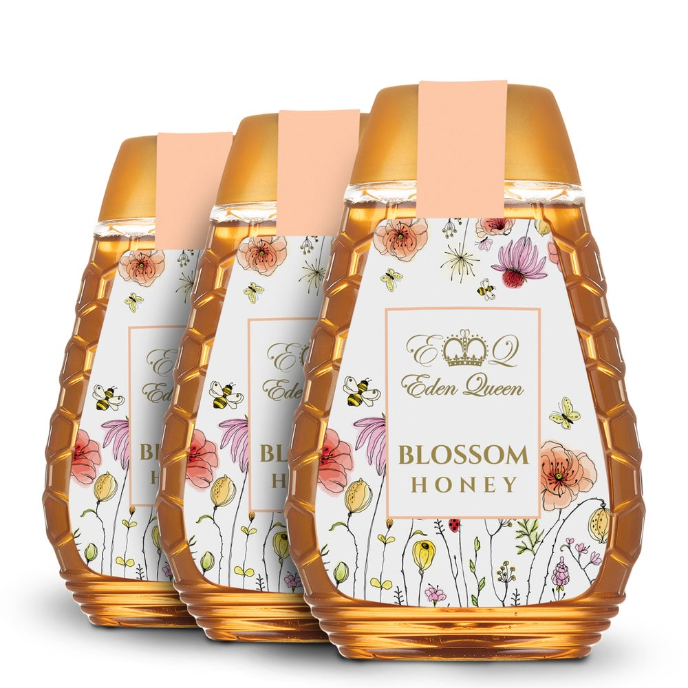 Image of Blossom Honey 3 Pack Squeezy (340 grams x3)