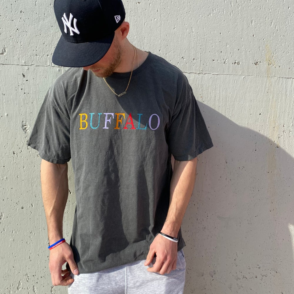 Image of Buffalo Spell Out Tee