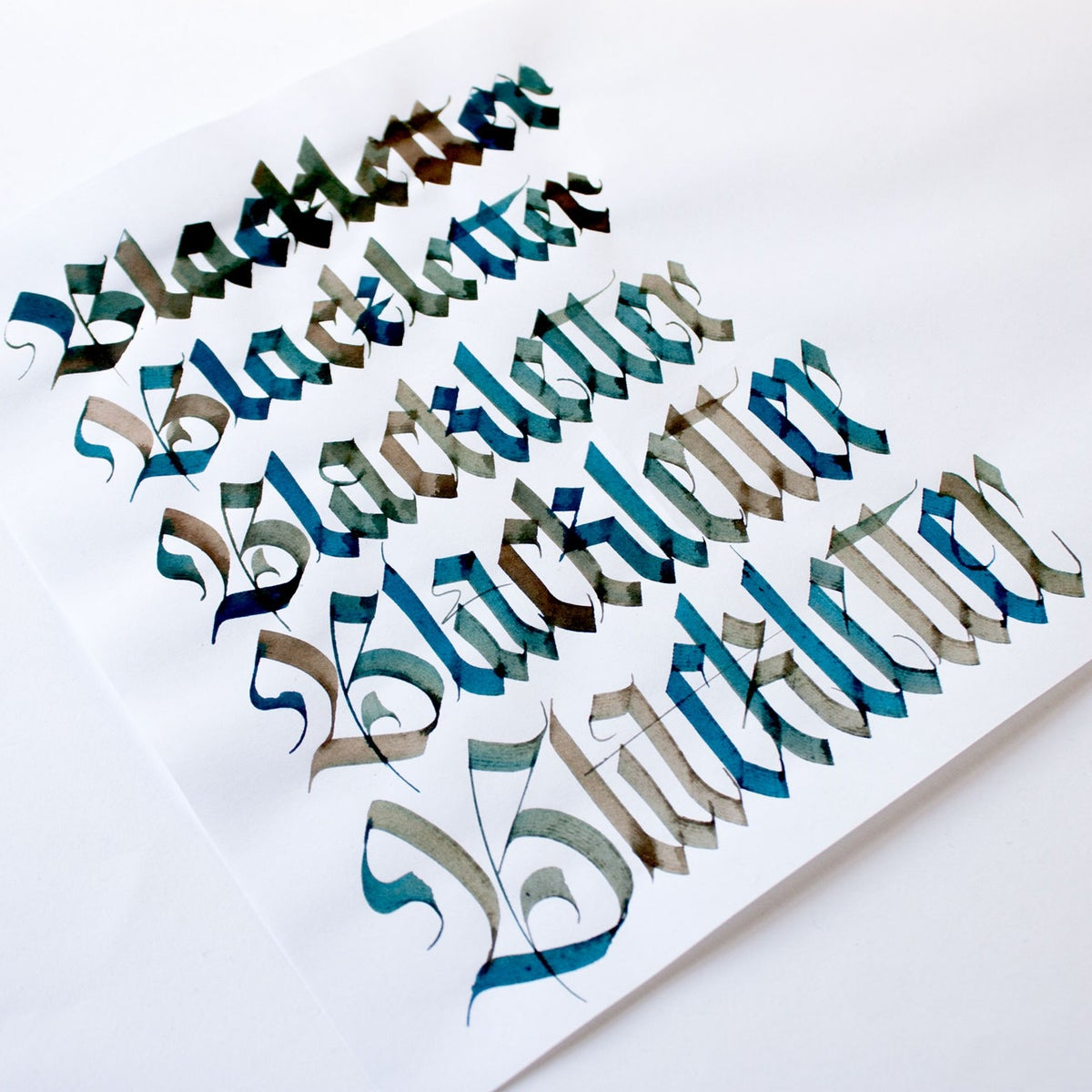 Image of In-Person Blackletter Calligraphy