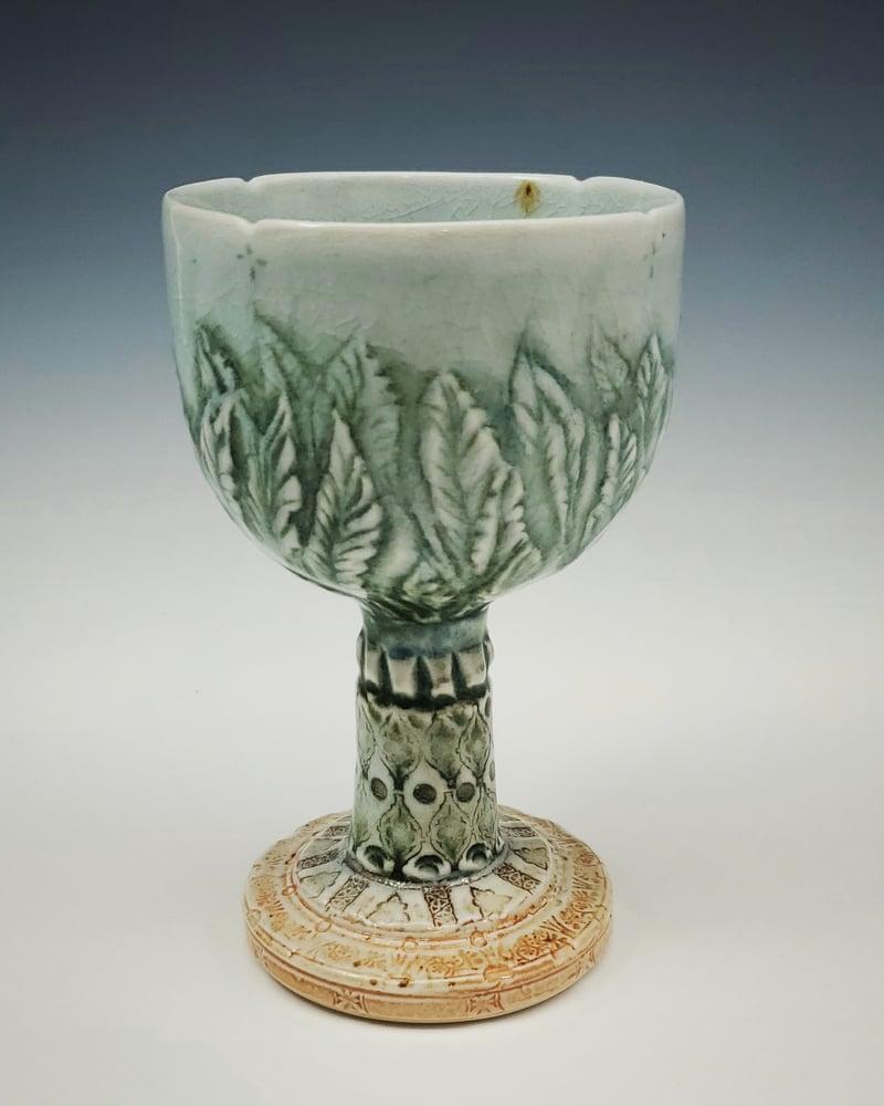 Image of Naturesnest Woodfired Carved Goblet