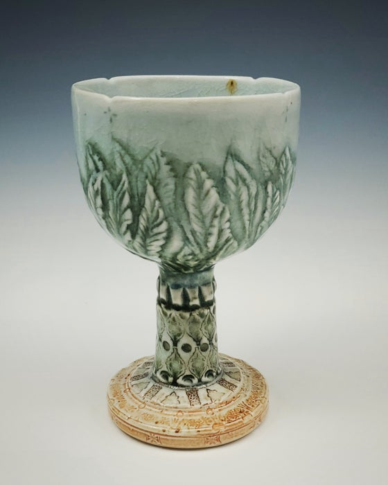 Image of Naturesnest Woodfired Carved Goblet