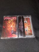 Image of CANNIBAL CORPSE - RED BEFORE BLACK / PRINTED ART CASSETTTE