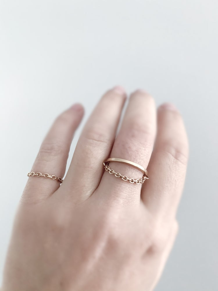Image of Isolde Ring in Gold Filled