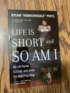 """Personalized Signed """"Life Is Short and So Am I"""" Autobiography"""