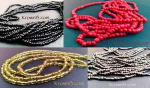 Solid Color Waist Beads