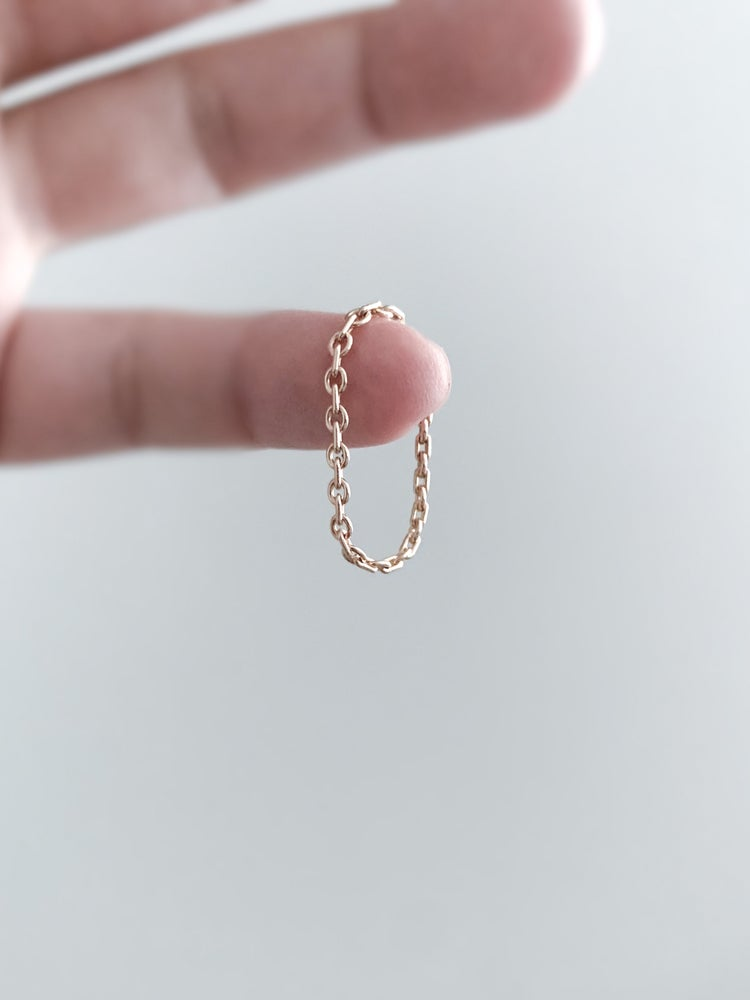 Image of Chain Ring in Gold Filled