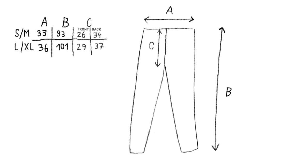 Image of COLOR CUTS LEGGINGS