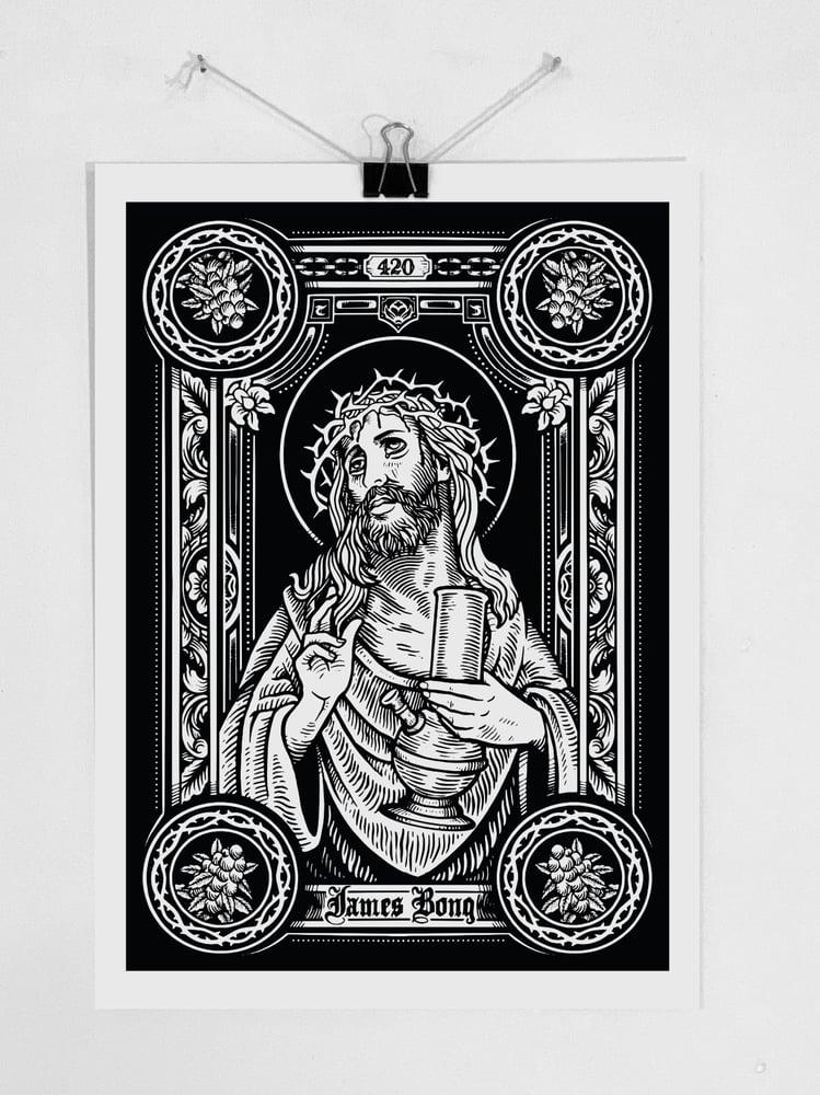 "Image of Print ""JAMES BONG"""