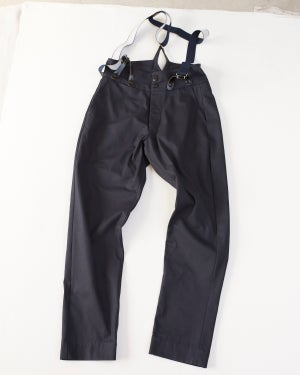 Image of High waisted Trouser NAVY