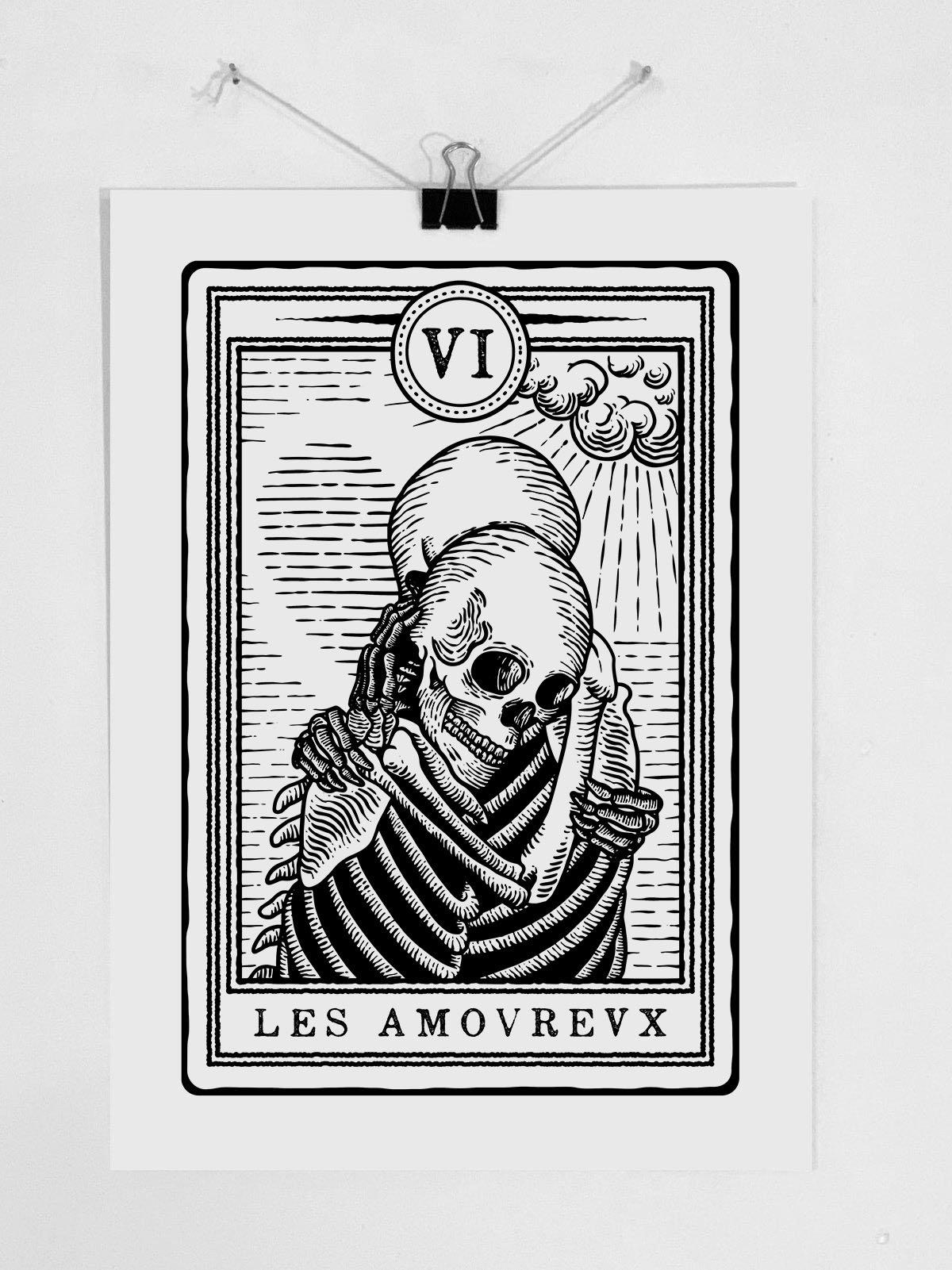 "Image of Print ""LES AMOVREVX"""