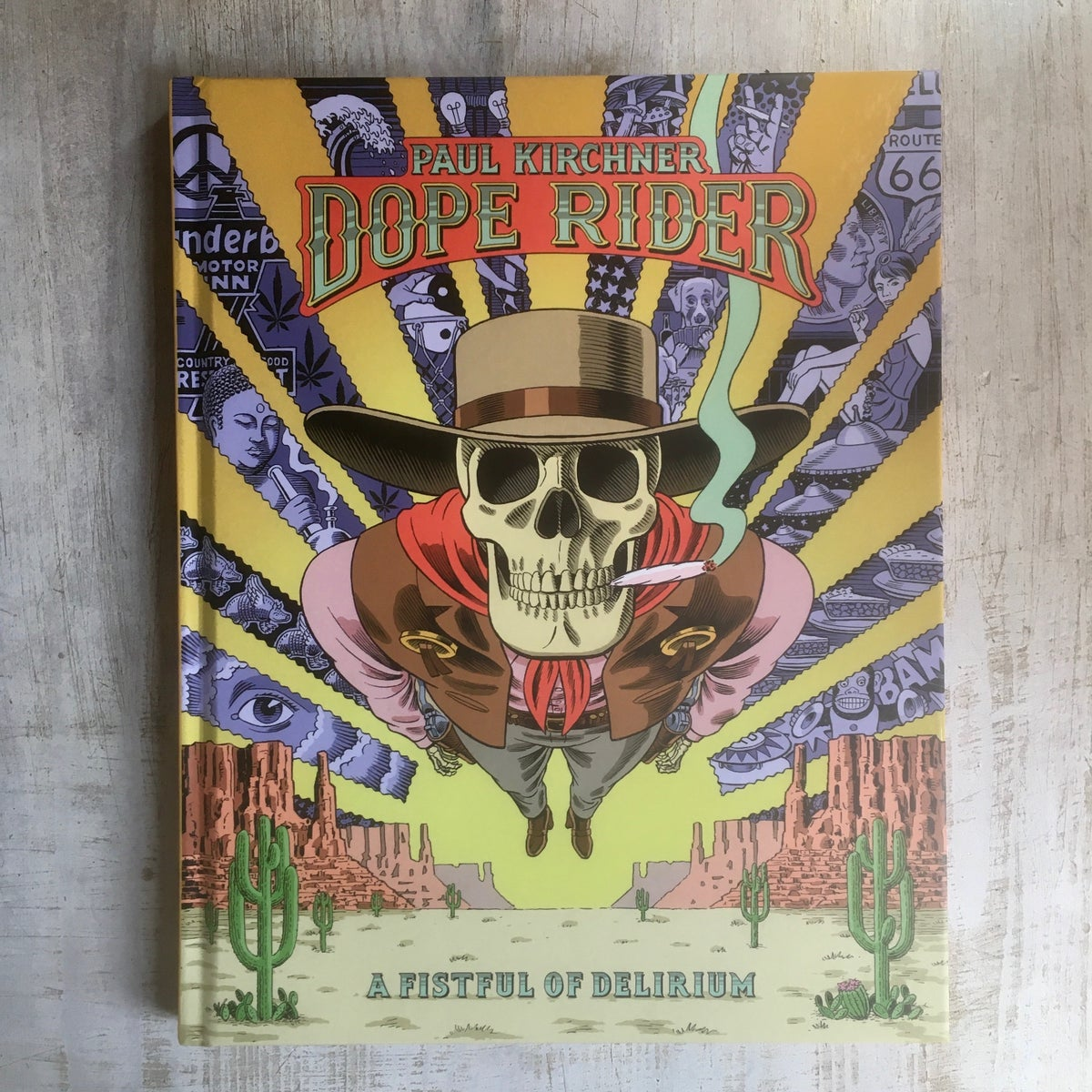 Dope Rider: A Fistful of Delirium (Eng Ed) - Editions Tanibis