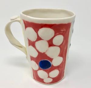 Image of Blue dot Mug