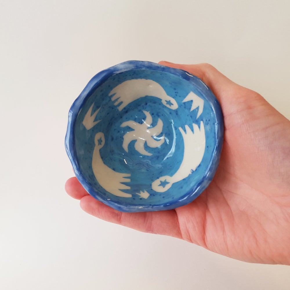 Image of Stars Bowl, Blue
