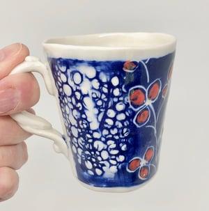Image of Red and Blue Small Mug
