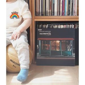 Image of Radio Love Love - Rainbow Tee - Kids