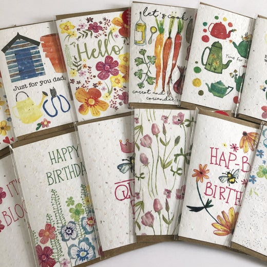 Greeting cards-Plantable Seed Cards
