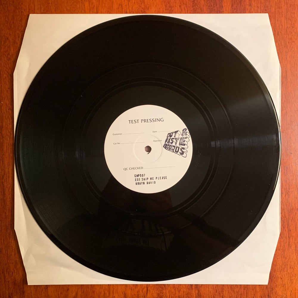 """Image of Test Press 12"""" CNP007 """"Egg Ship Me Please"""" / ONLY SHIPS WITHIN NORTH AMERICA"""