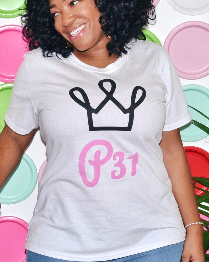 Image of The Proverbs 31 Large Logo Tee
