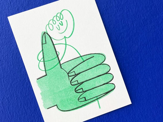 Image of POSTKARTE Green Thumb