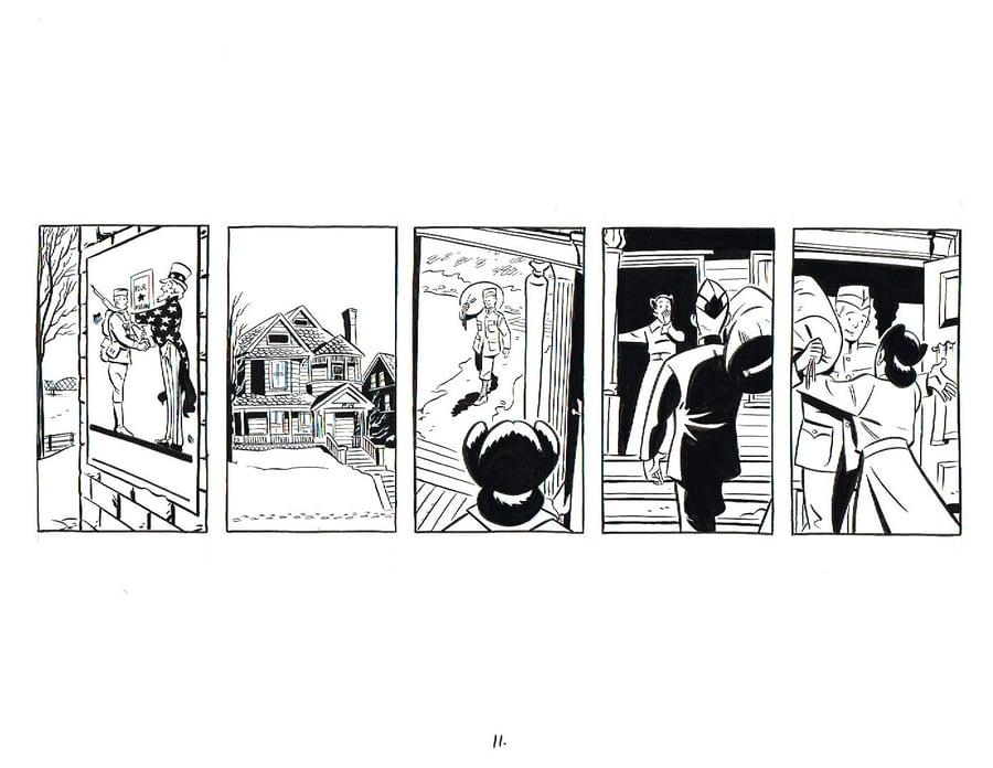 Image of BIX page 11 original art