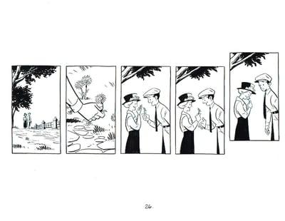 Image of BIX page 26 original art