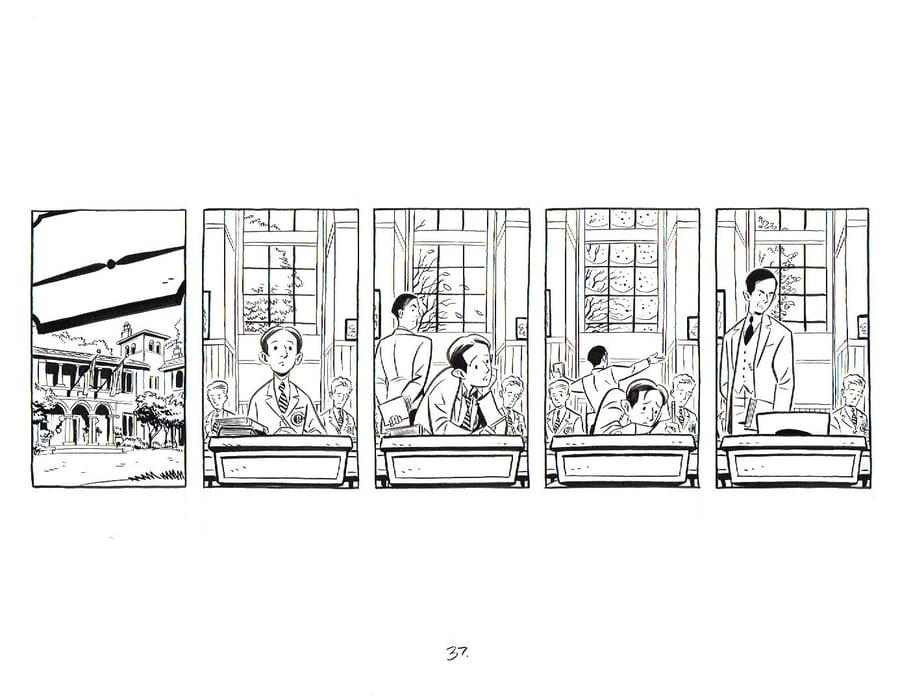 Image of BIX page 37 orginal art