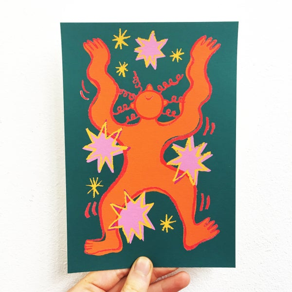 Image of 'Dance with the Stars' Giclée Print