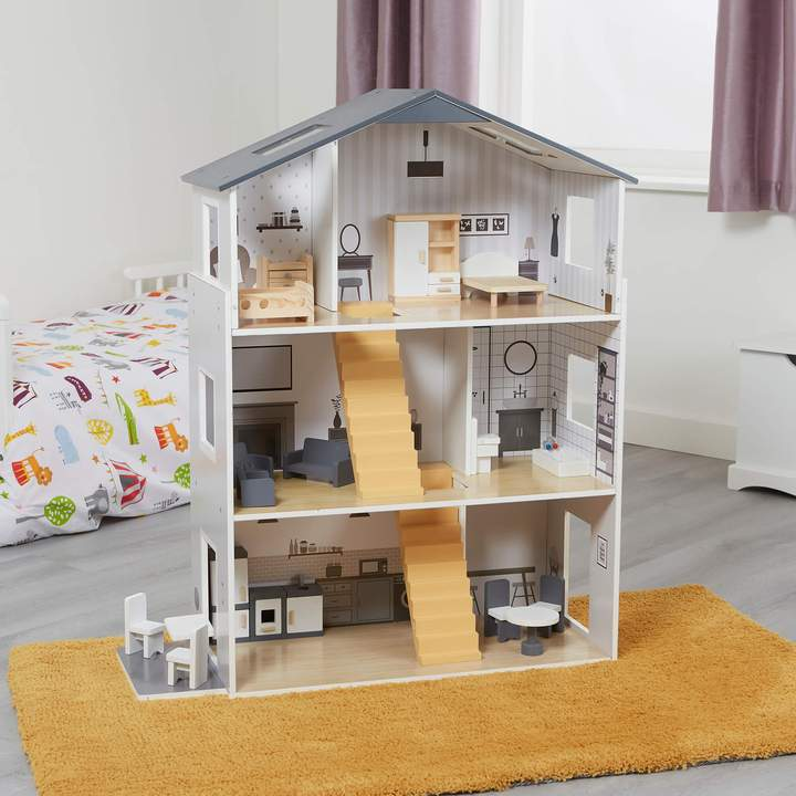 Image of Contemporary Doll House & Furniture