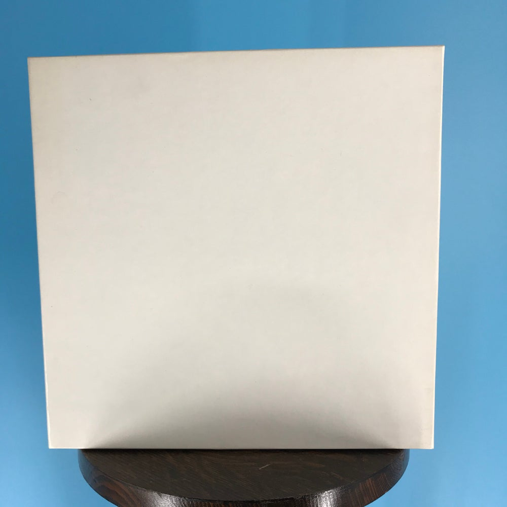 "Image of 1"" x 10.5"" White Setup Boxes for Reels New"
