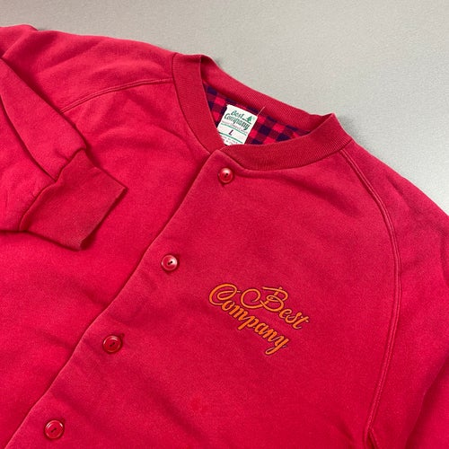 Image of 1980s Best Company button up jacket, size large