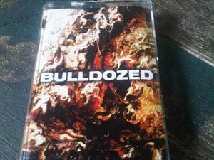 Image of Bulldozed 'Demonyomurdergangcore' cassette tape