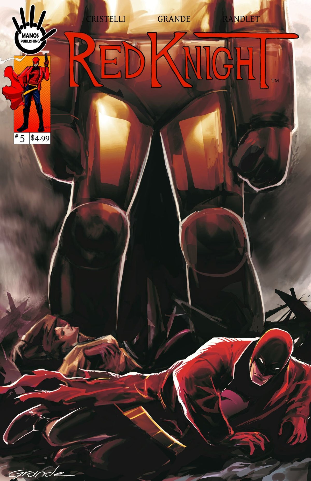 Image of Red Knight #5 Digital Version