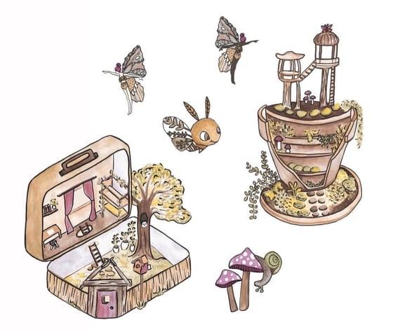 Image of Fairy Garden Decals