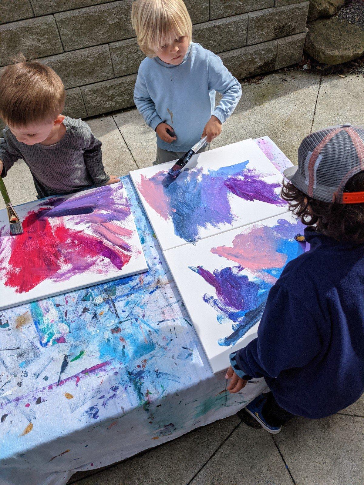 Image of Preschool Art Classes