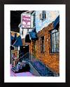 "Stone Balloon Newark DE 2021 Colors Giclée Art Print - 11"" x 14"""
