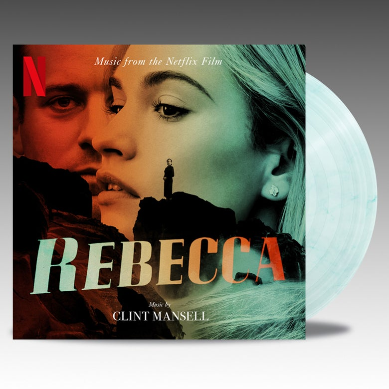Image of Rebecca (Music From The Netflix Film) - 2 x 'Translucent Marble' Vinyl - Clint Mansell