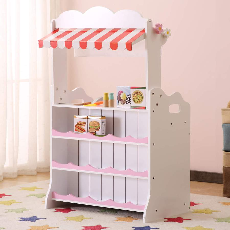 Image of Pink Kitchen/Market Stall & Accessories