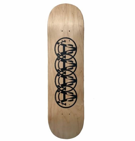 Image of Smile skateboard deck