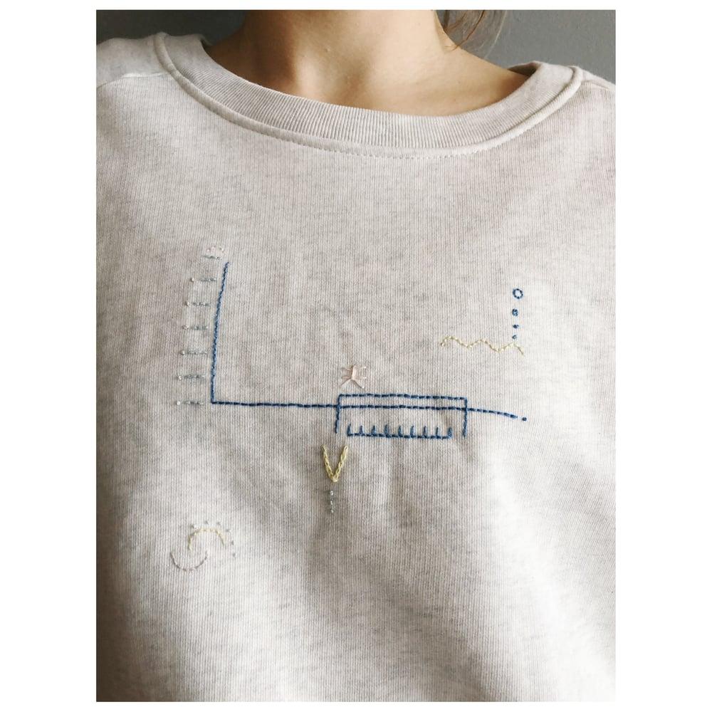Image of SWIMMING POOL - Sweatshirt