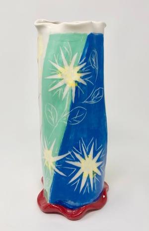 Image of Multicolored Vase