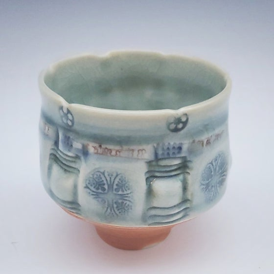 Image of Small Woodfired Altered Tree Tea Bowl