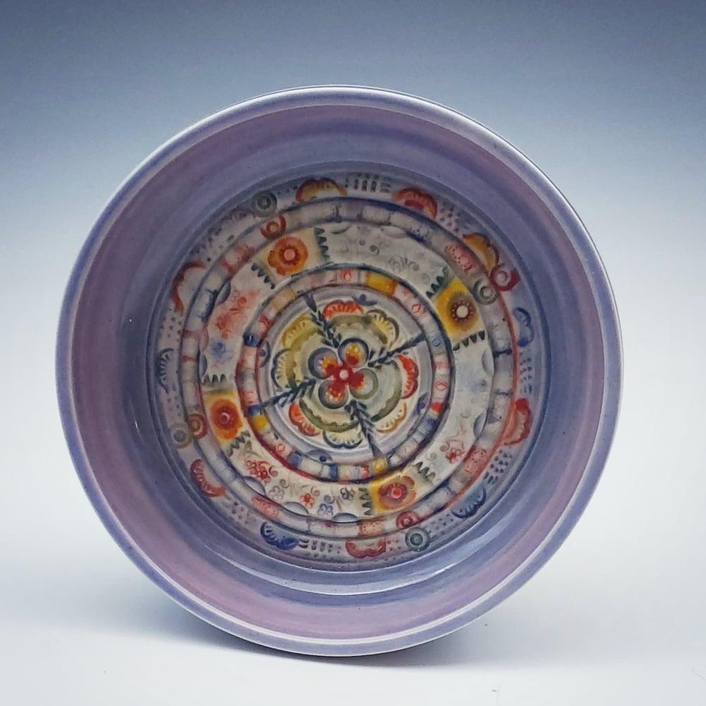 Image of LIlac Mandala Porcleain Dish