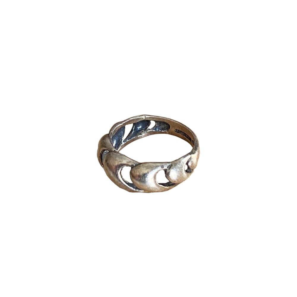 Image of SILKBLEND   VINTAGE MODERNIST RING