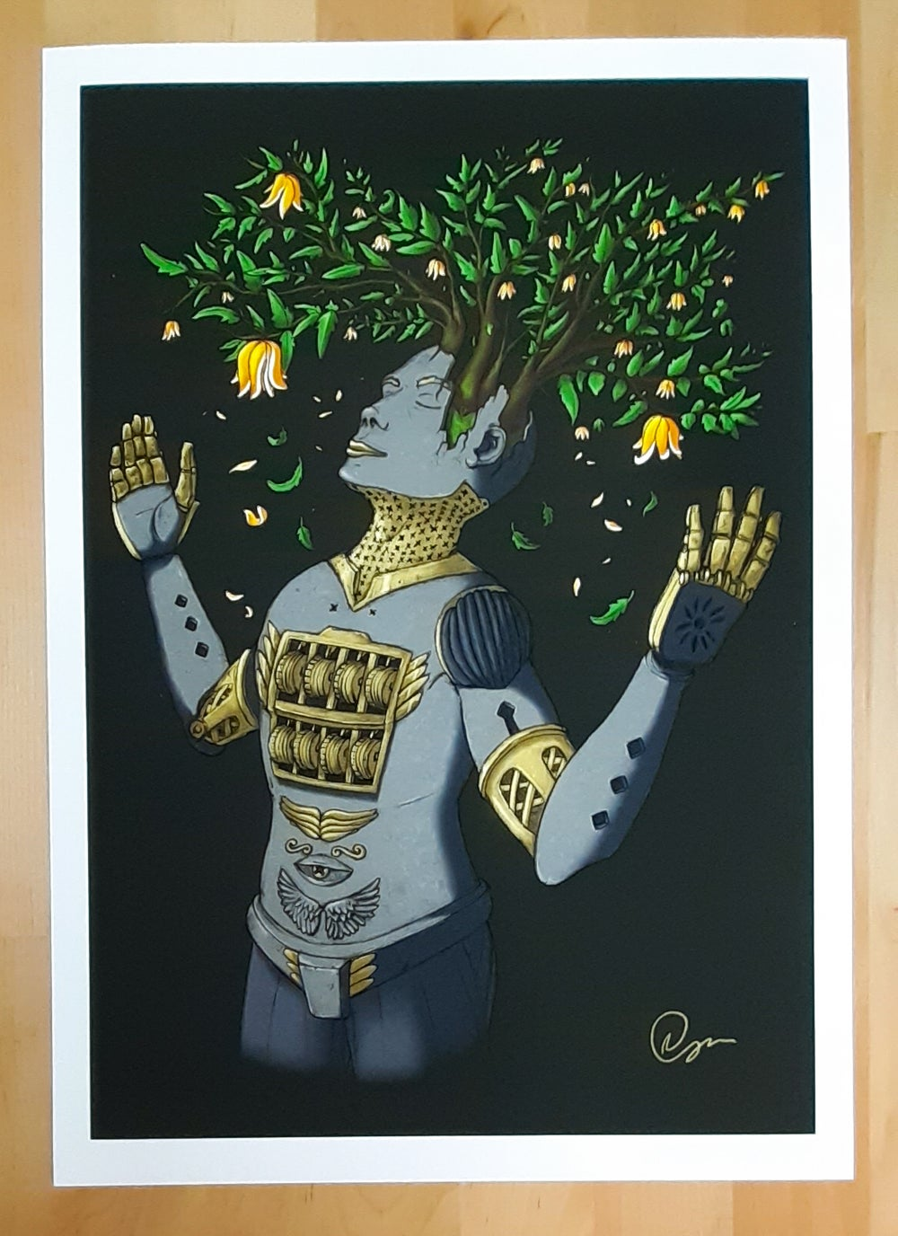 Perfectionist A3 Giclee Art Print