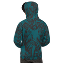 Image 1 of NAMELESS TEAL ALLOVER HOODIE