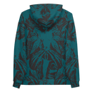 Image 3 of NAMELESS TEAL ALLOVER HOODIE