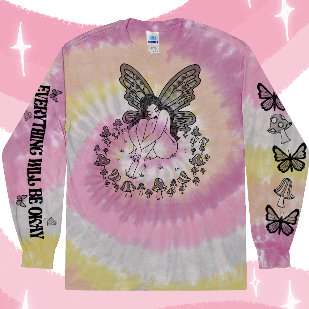 Image of EVERYTHING WILL BE OKAY FAIRY TEE