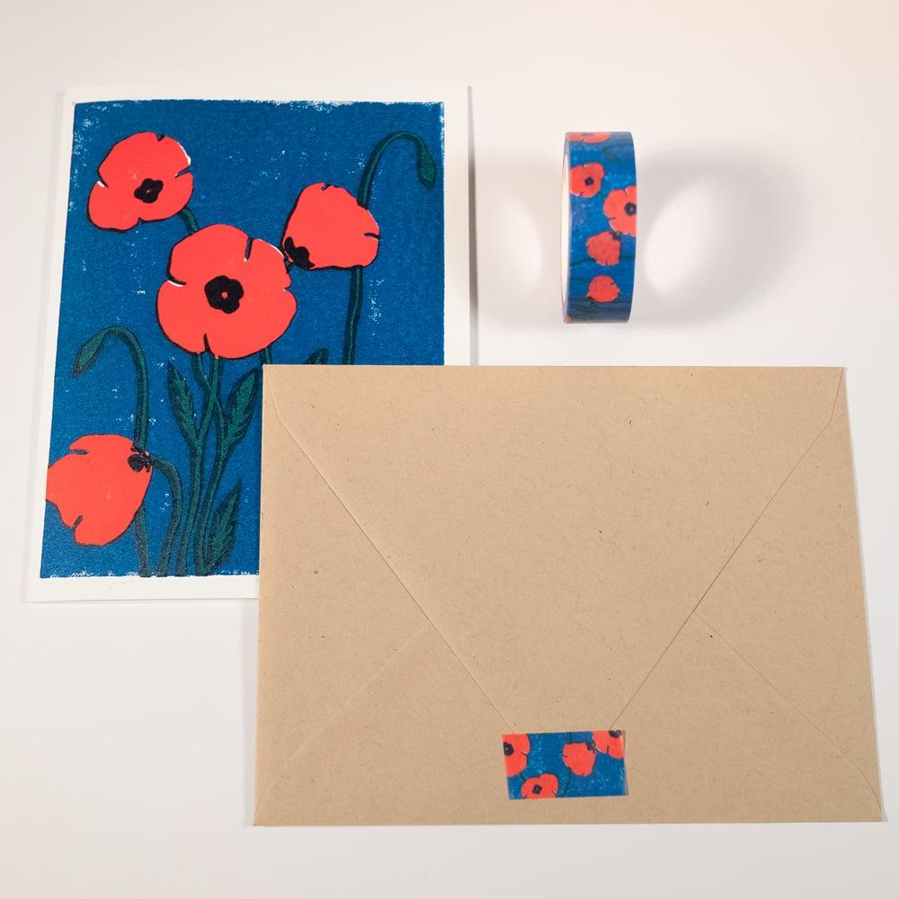 Image of Poppies Washi Tape
