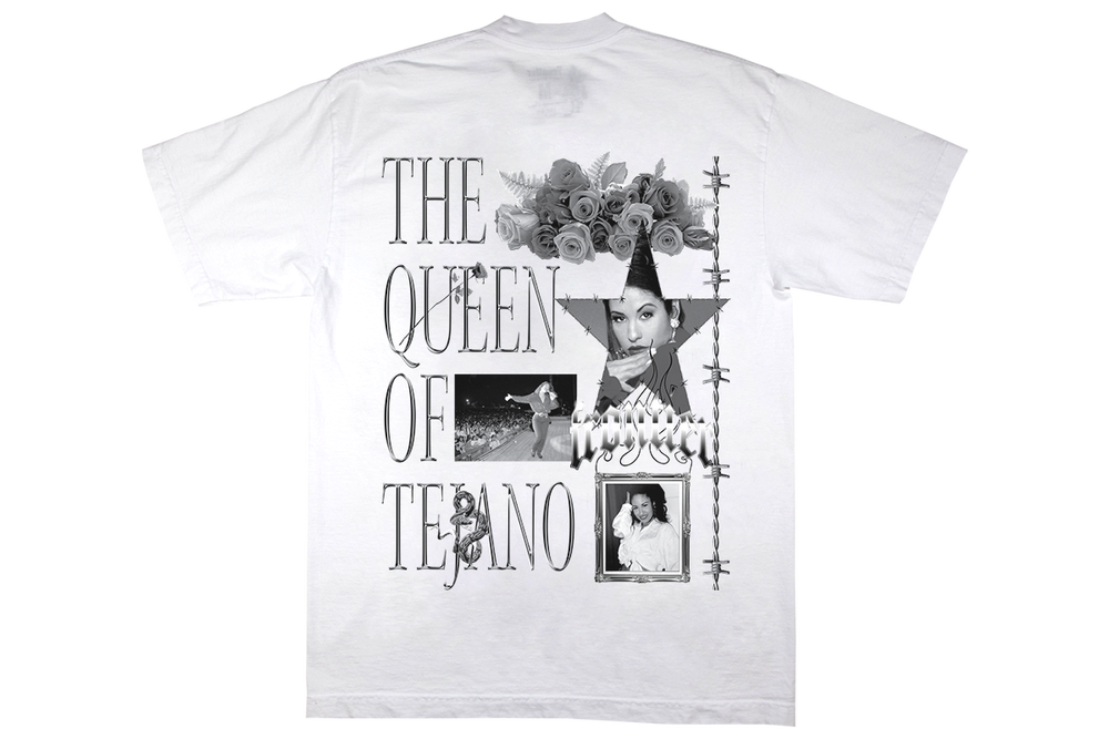 Image of Selena T-Shirt White for Charity