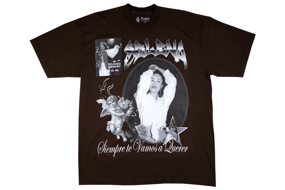 Image of Selena T-Shirt Brown for Charity